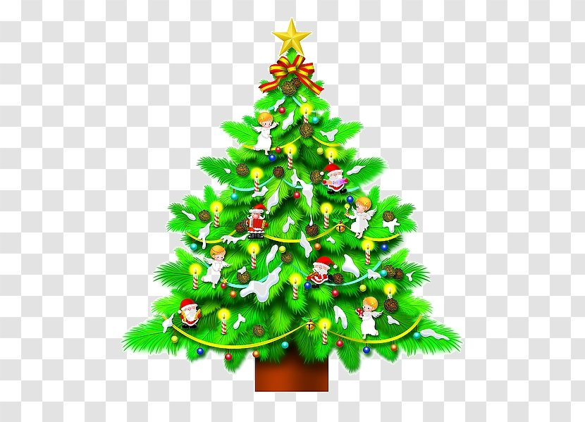 Christmas Tree Day Drawing Fir Vector Graphics Decoration Transparent Png