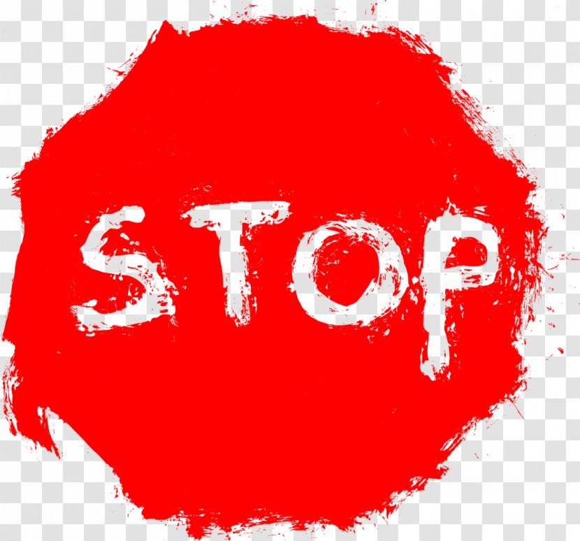 Stop Sign Clip Art - Transparent Transparent PNG
