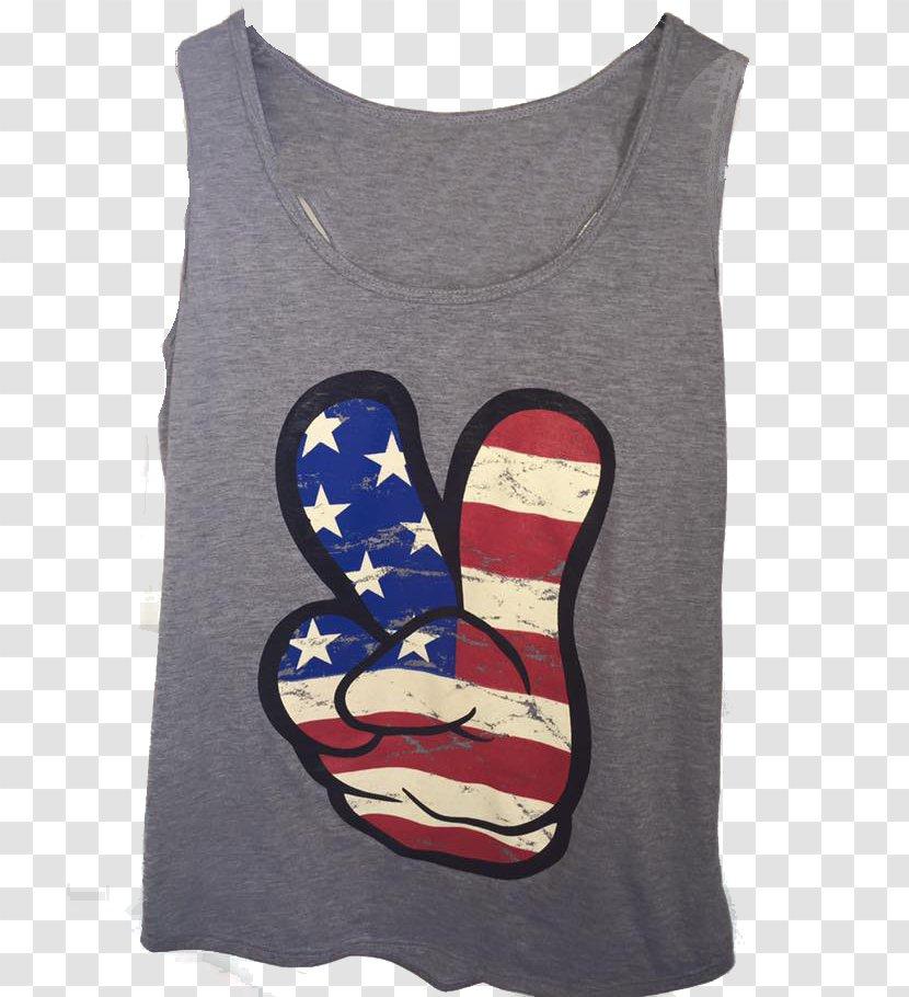 Printed T-shirt Sleeveless Shirt - Silhouette - Shirt-boy Transparent PNG