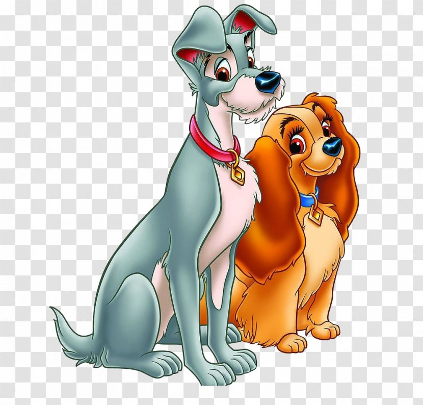 Lady And The Tramp Walt Disney Company Clip Art Good Friend Puppy Transparent Png