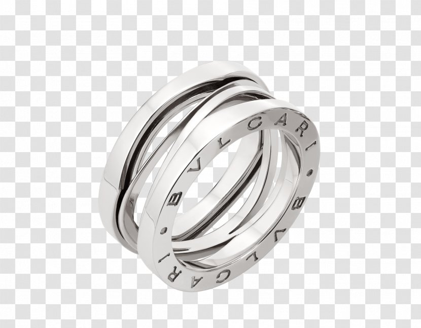 Wedding Ring Bulgari Jewellery - Silver Transparent PNG