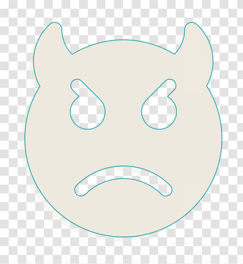 Smiley And People Icon Angry Icon Devil Icon Transparent PNG
