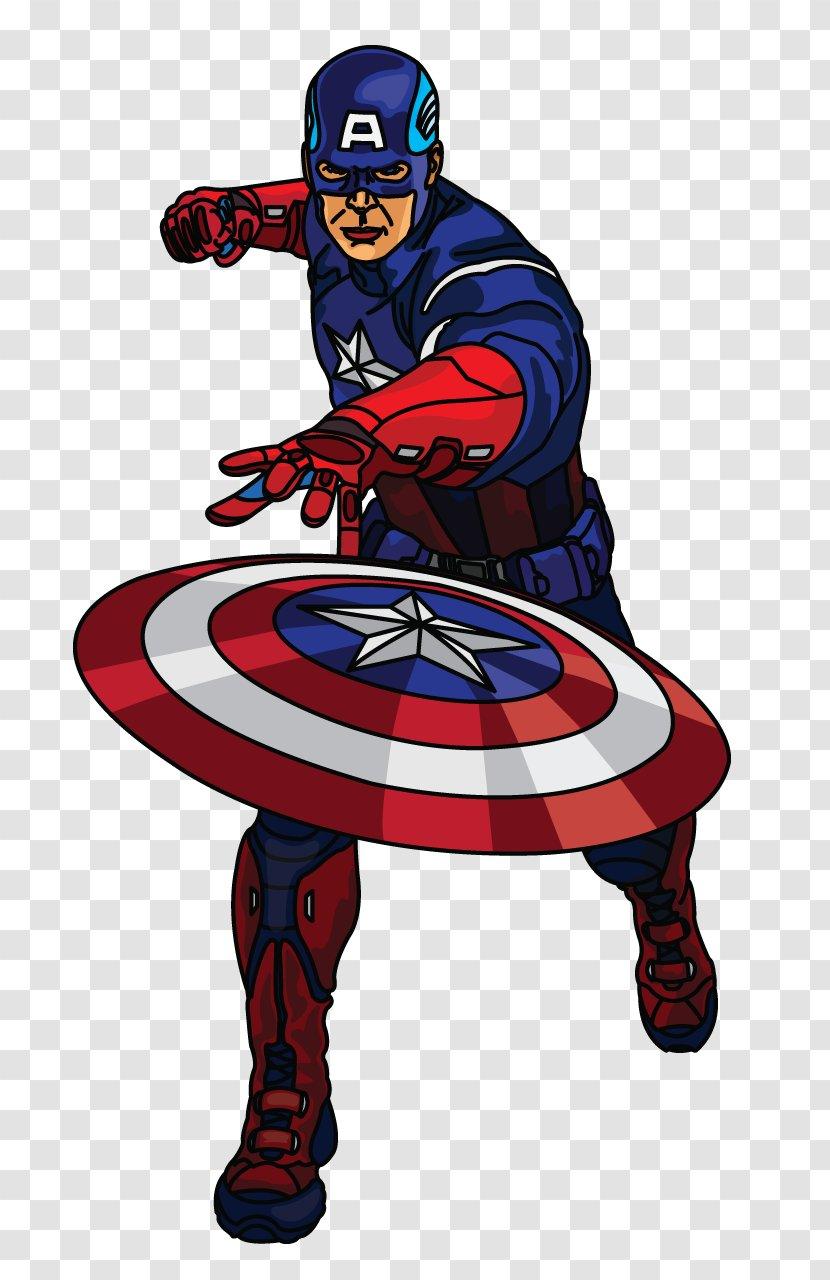Captain America Drawing Hulk Superhero Cartoon - Hero Transparent PNG