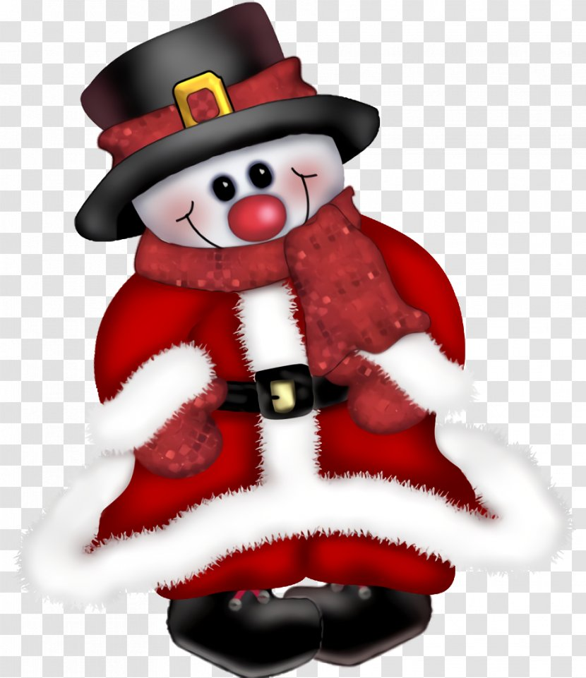 Christmas Snowman Winter - Holiday Ornament Decoration Transparent PNG