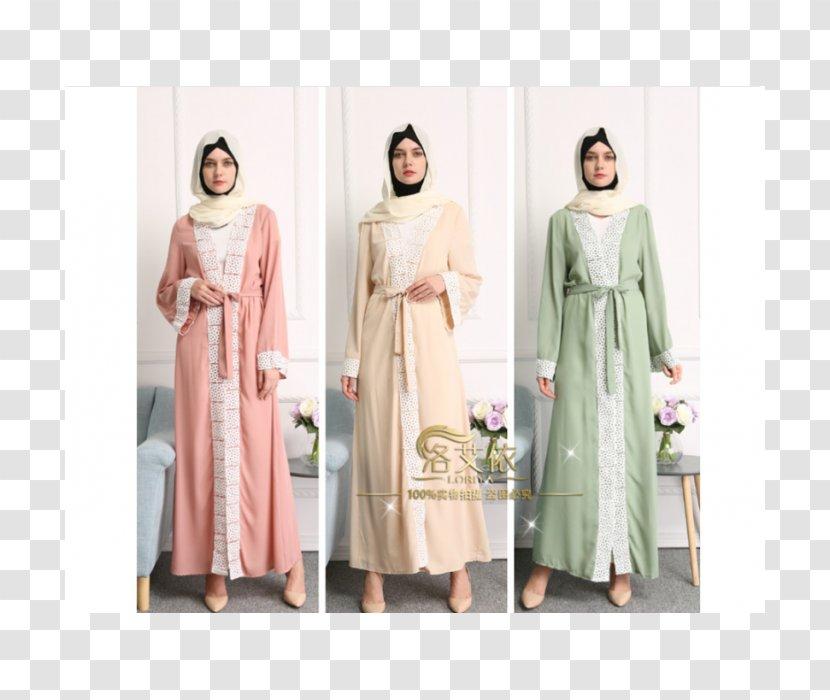 Robe Abaya Dress Muslim Clothing Cartoon Baju Raya Transparent Png