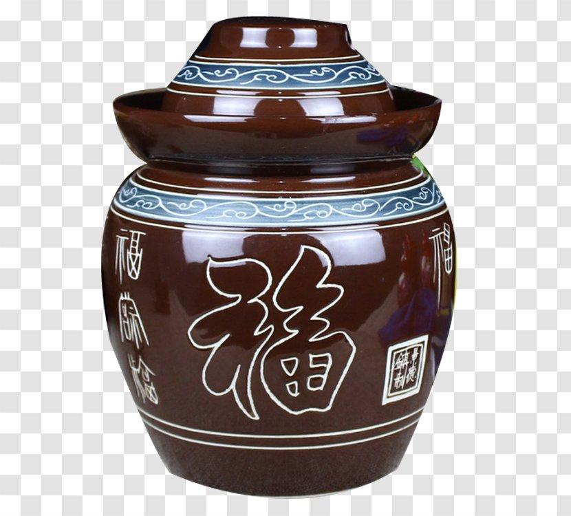 artifact vase urn mason jar suan cai