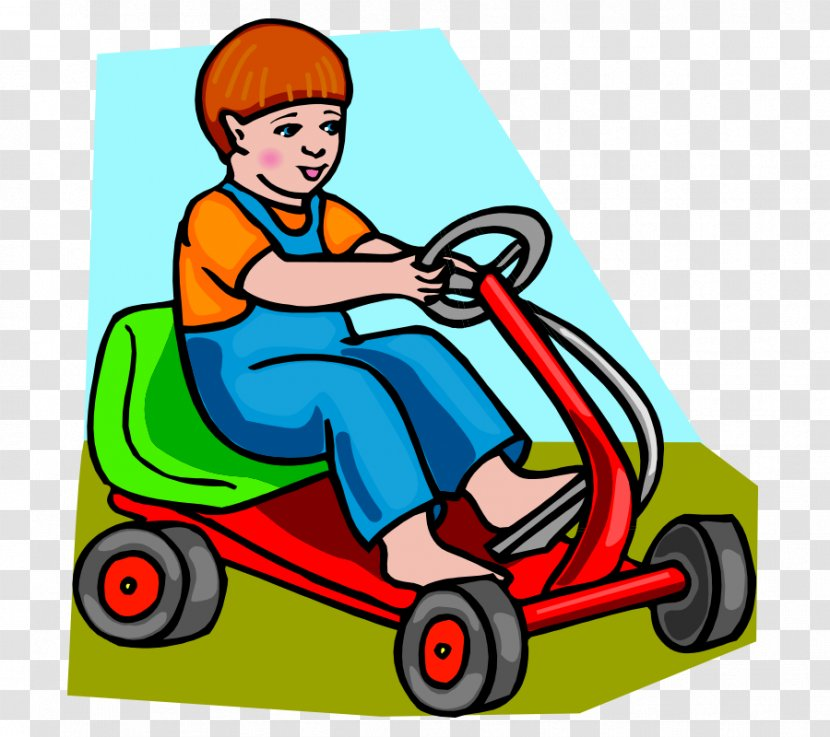 Have A Family Day Out - Drive A Go Kart Clipart - Free Transparent PNG  Clipart Images Download