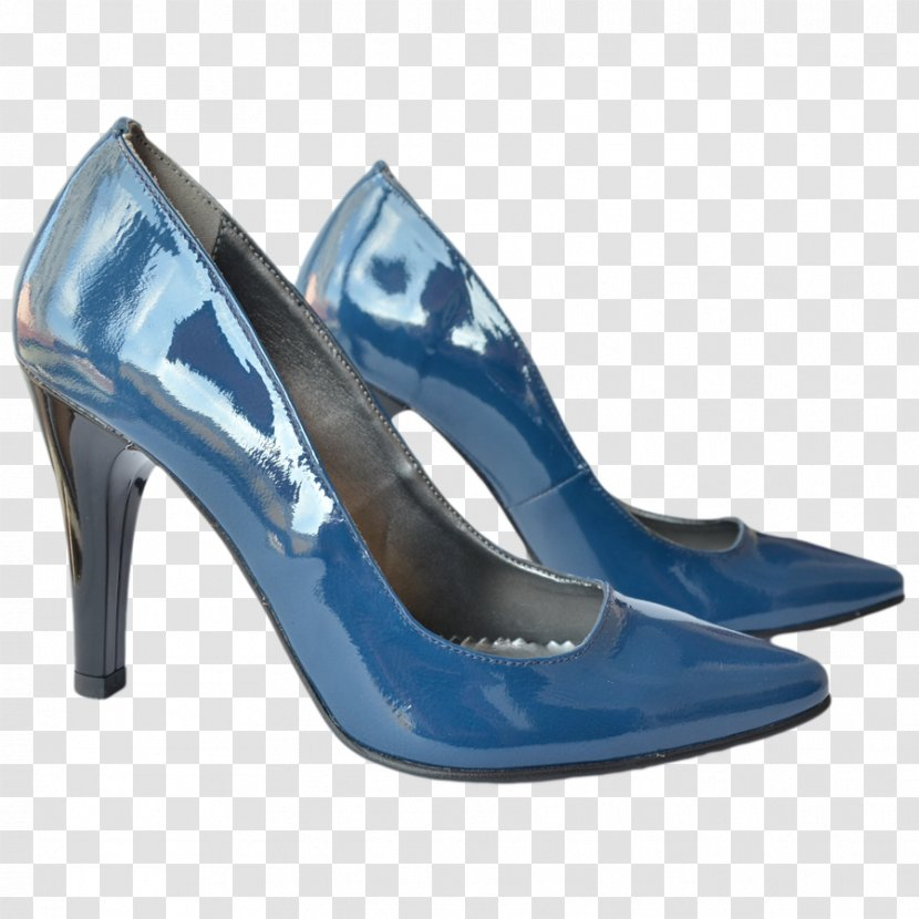 Stiletto Heel Shoe Absatz Sandal Footwear - Blue Transparent PNG