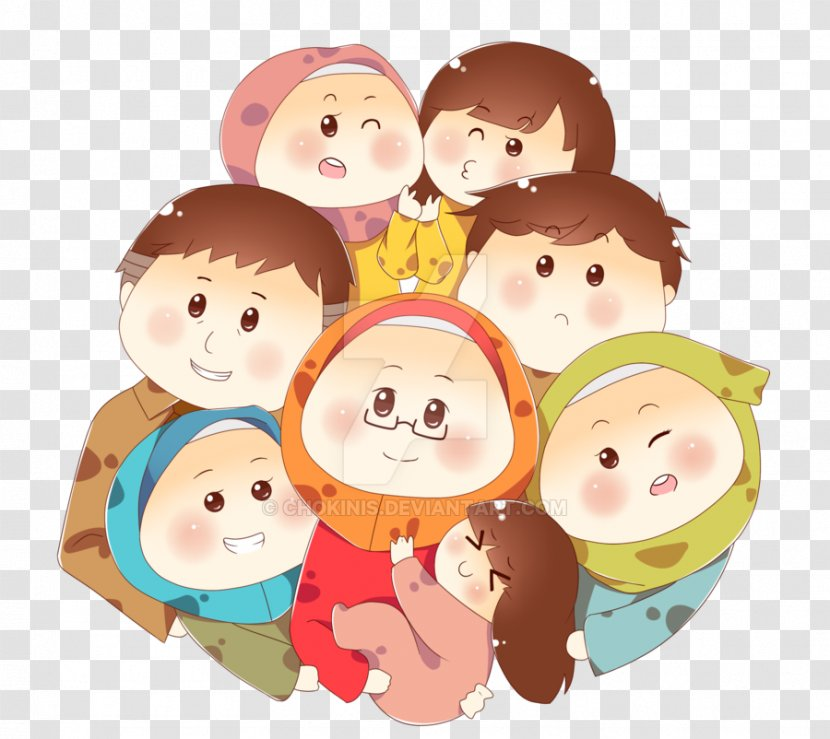 family muslim islam cartoon child allah transparent png family muslim islam cartoon child