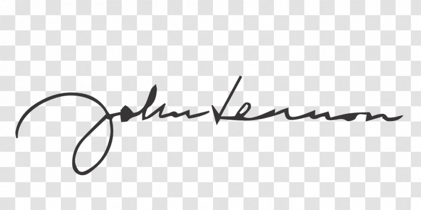John Lennon Signature Box Musician The Beatles Autograph White Transparent Png