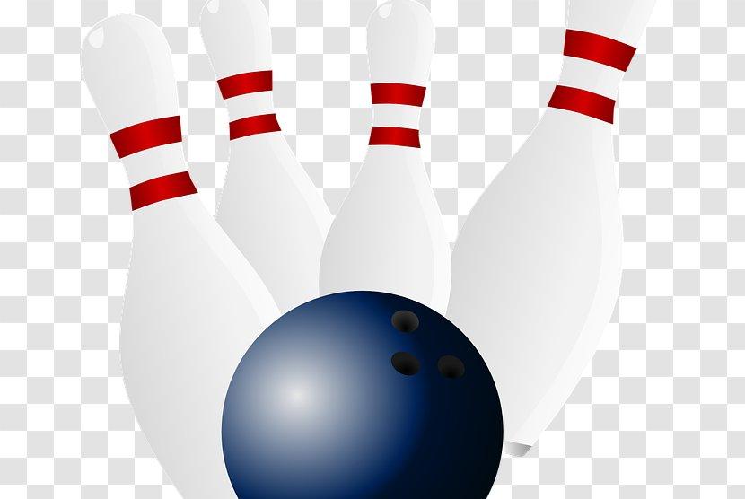 Bowling Pin Balls Clip Art - Equipment Transparent PNG