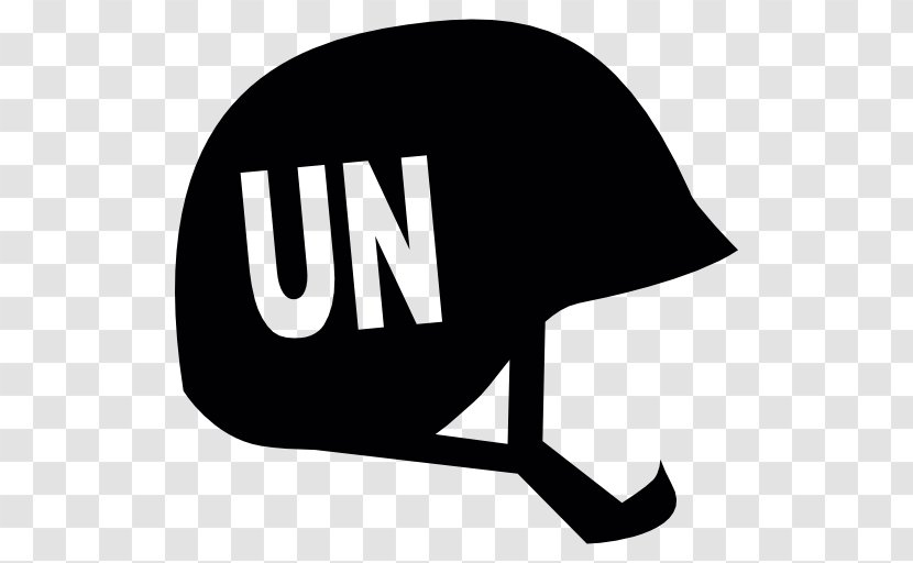 Flag Of The United Nations Vector Graphics Clip Art Combat Helmet - Monochrome Photography - Black And White Transparent PNG