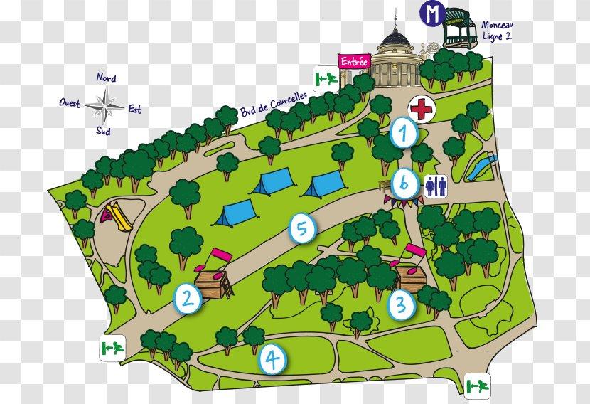 Parc Monceau Montsouris Park Rue - Tree - Ciel Transparent PNG
