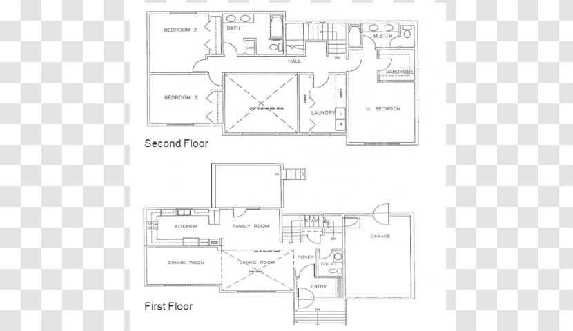 Paper Floor Plan Brand Pattern - Bath Tab Transparent PNG