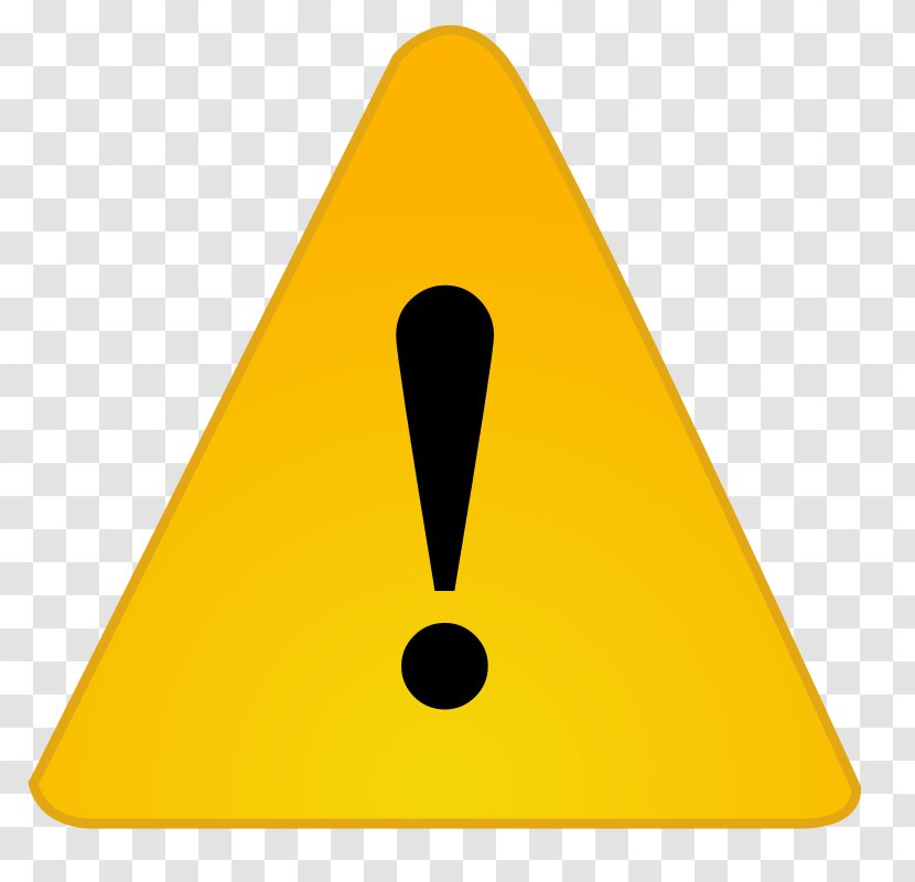 Warning Exclamation Mark Clip Art Triangle Transparent Png
