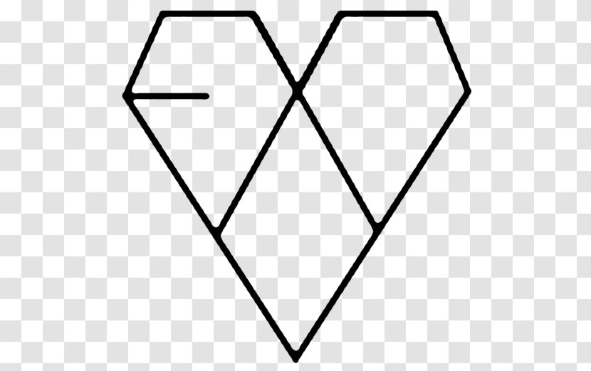 XOXO EXO Logo K-pop Overdose - Symmetry - Area Transparent PNG