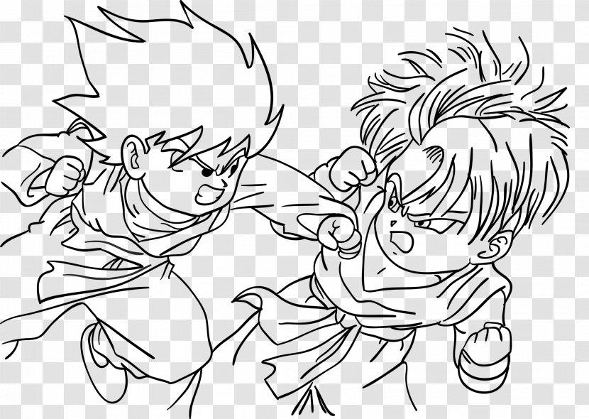 - Goten Goku Dragon Ball Coloring Book Super Saiyan Transparent PNG