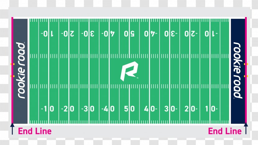 American Football Field Hash Marks Pitch - Yard Transparent PNG