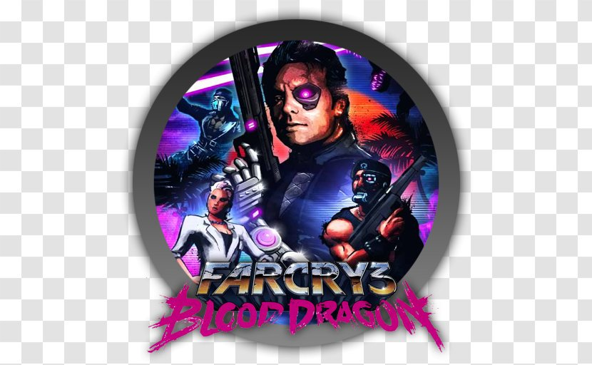 Far Cry 3 Blood Dragon 2 Xbox 360 Video Game Ubisoft Montreal