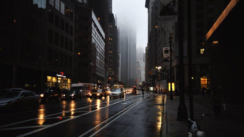 New York City Desktop Wallpaper 4k Resolution Ultra High Definition Television Sky Street Light Transparent Png