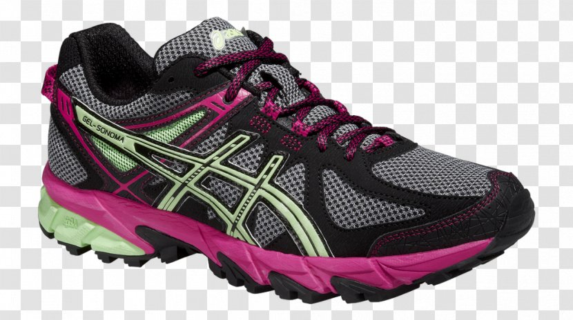 Electricista Conciso esposa  Asics Men's GEL-Sonoma 3 Sports Shoes Trail Running - Sportswear - Pink  Tennis For Women Transparent PNG