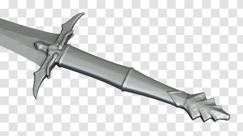 Sword The Elder Scrolls V: Skyrim Rendering Weapon Dragon Transparent PNG