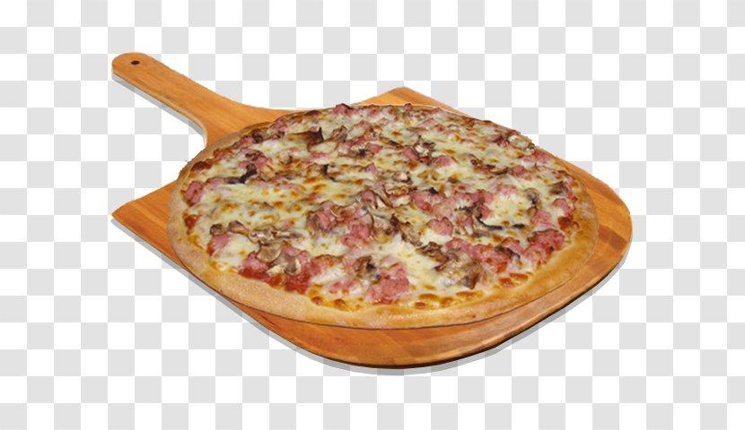 Sicilian Pizza California-style Tarte Flambée Hamburger - Recipe - Mushroom Burger Transparent PNG