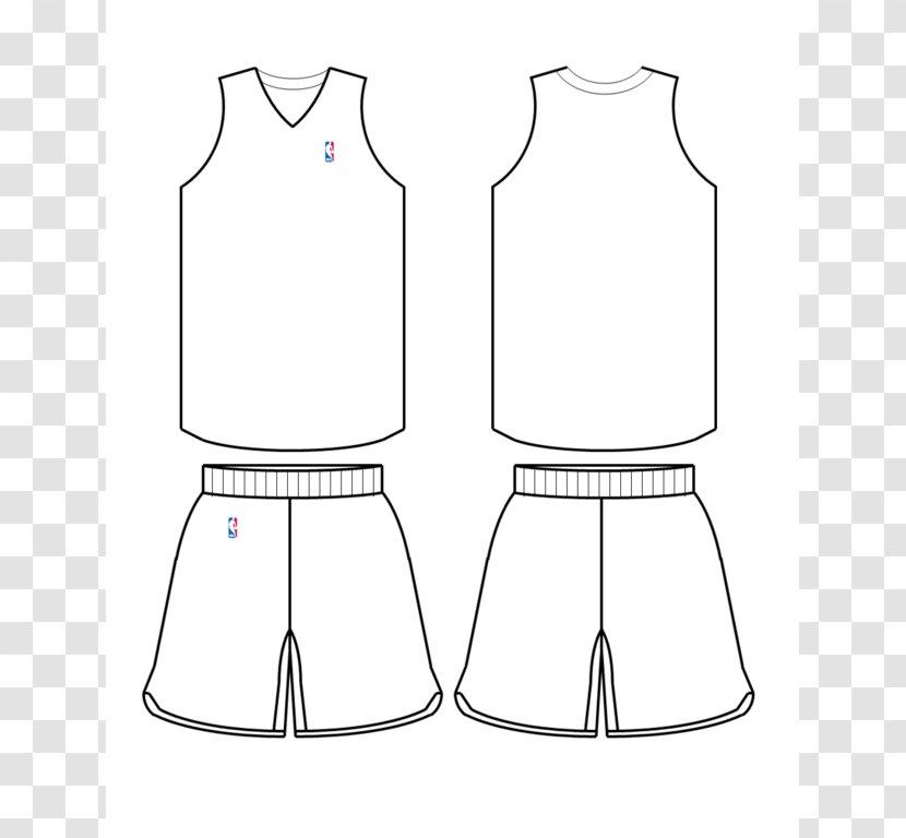 Nba Template Basketball Uniform Jersey Area Transparent Png