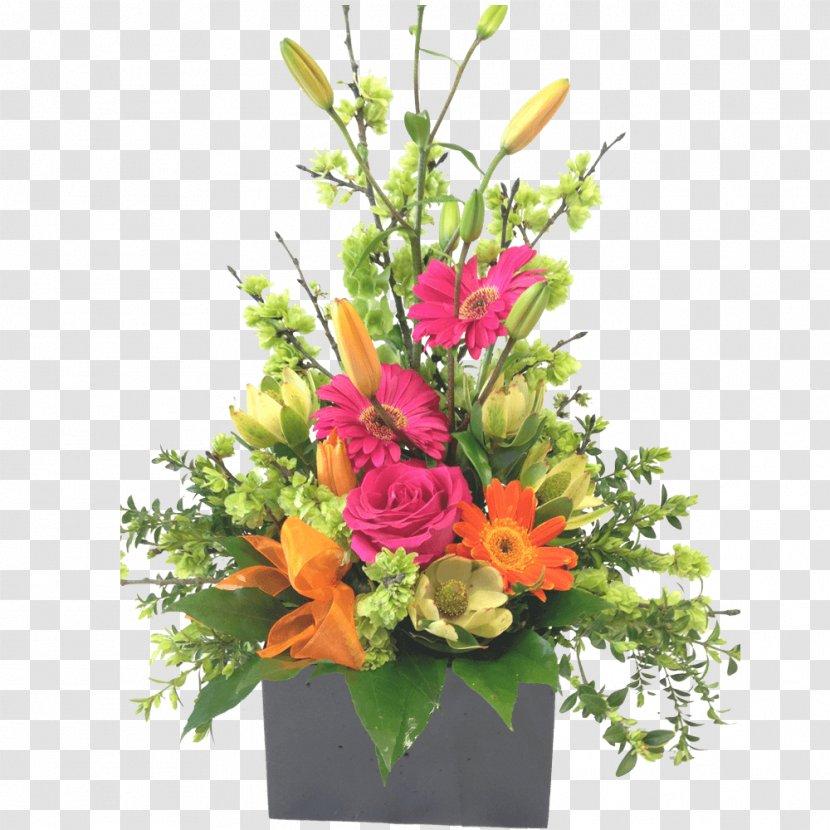 Floral Design Cut Flowers Artificial Flower Bouquet Plant Box Arrangements Transparent Png