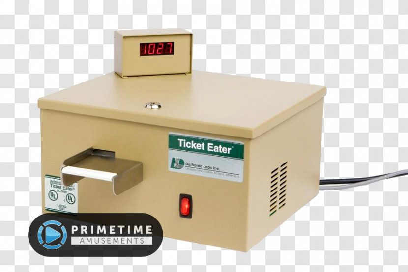 Ticket Machine Arcade Game Train - Custom Air Products Services Inc Transparent PNG