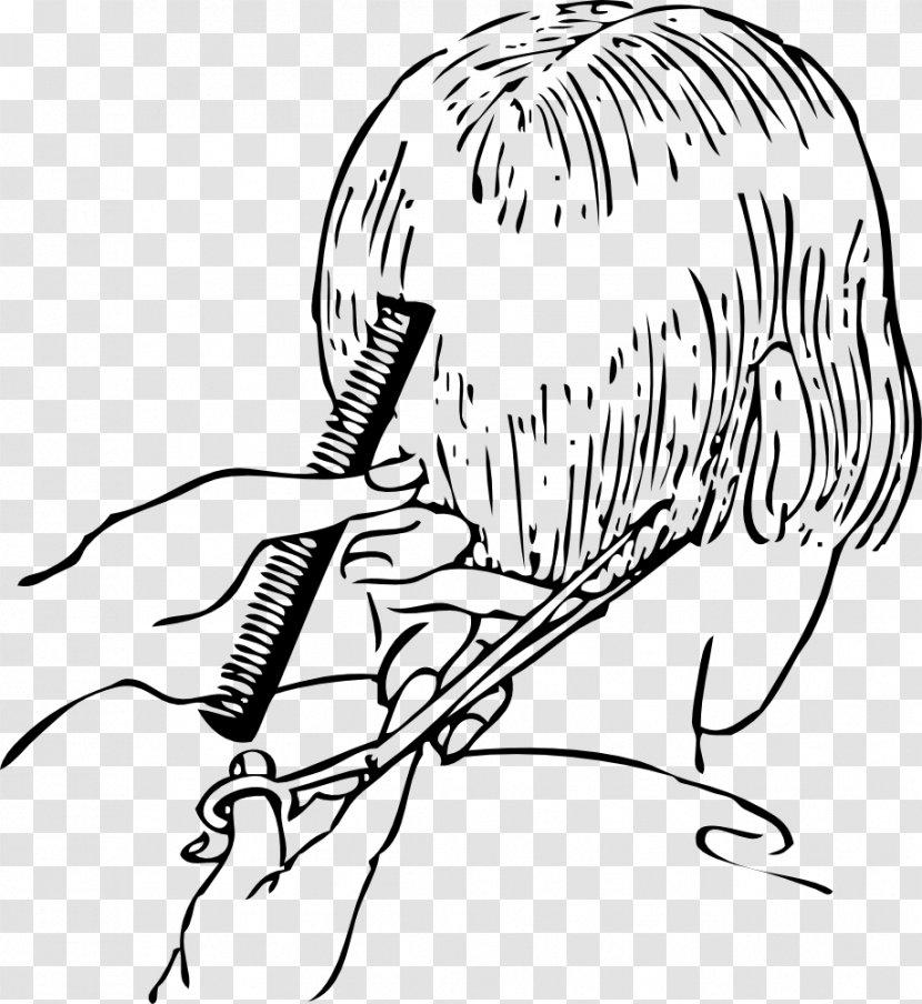 Comb Hairstyle Beauty Parlour Barber Hairdresser Cartoon Hair Salon Transparent Png