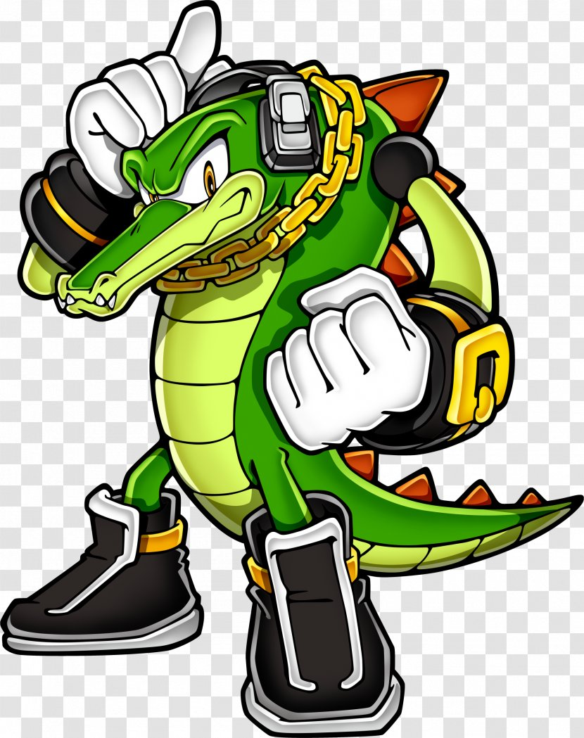 Sonic The Hedgehog Heroes Knuckles Chaotix Tails Vector Crocodile Transparent Png