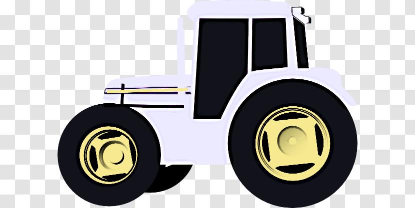 Tractor Wheel John Deere Agriculture Transparent PNG