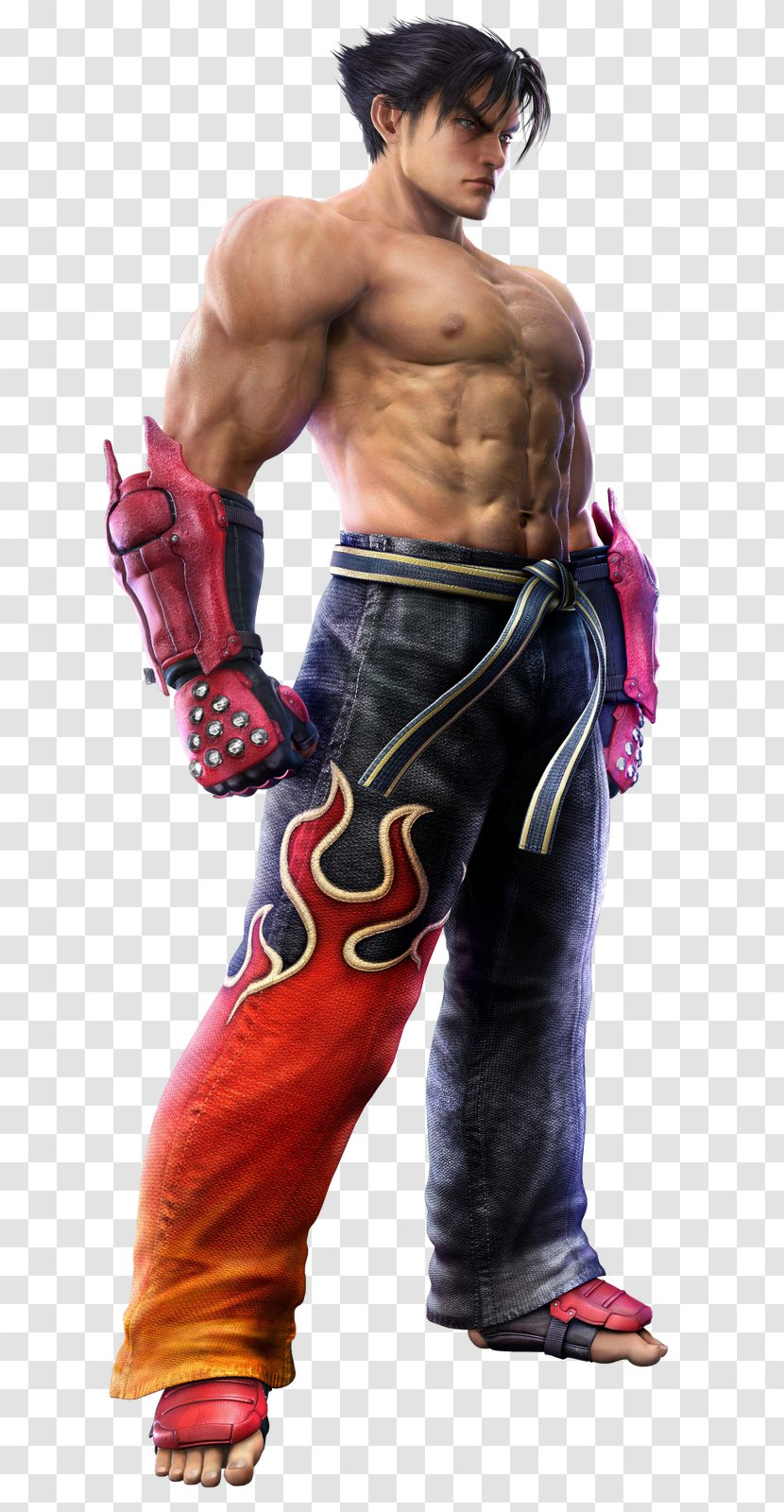 Tekken 6 Jin Kazama Kazuya Mishima 3 Barechestedness Krrish Transparent Png