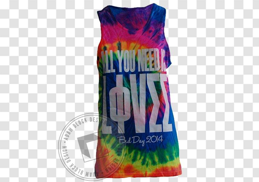 Gilets T-shirt Sleeveless Shirt Dye - Clothing - TIE DYE Transparent PNG