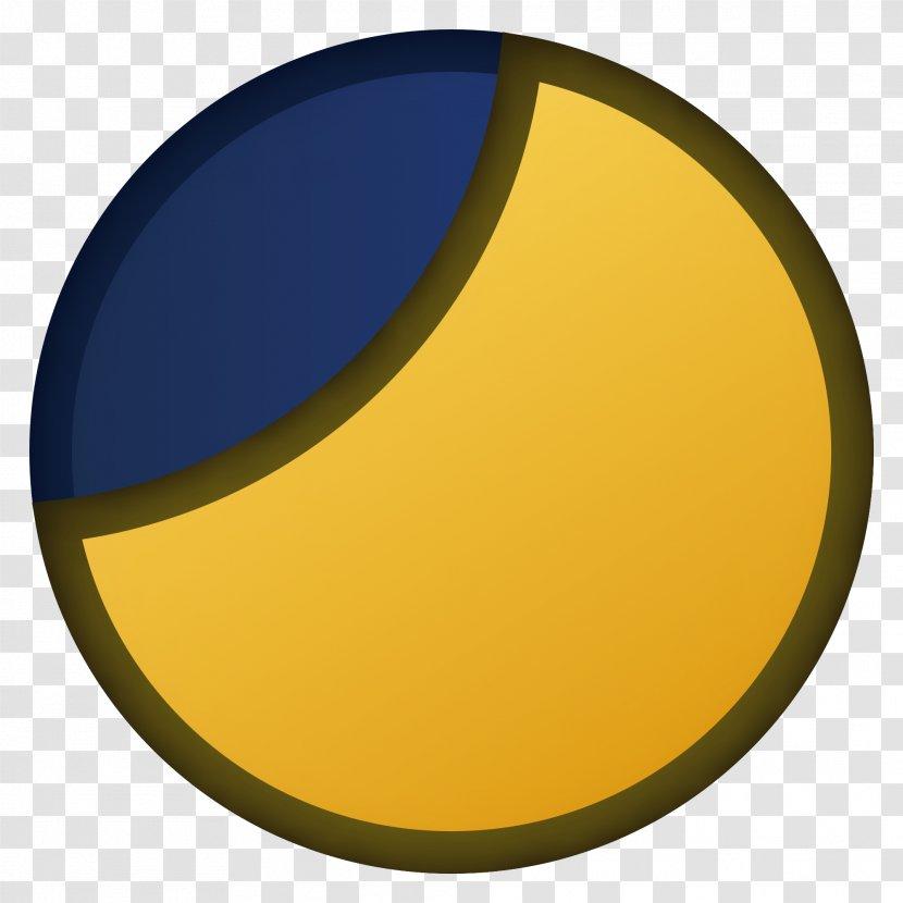 Circle Font - Yellow - Design Transparent PNG