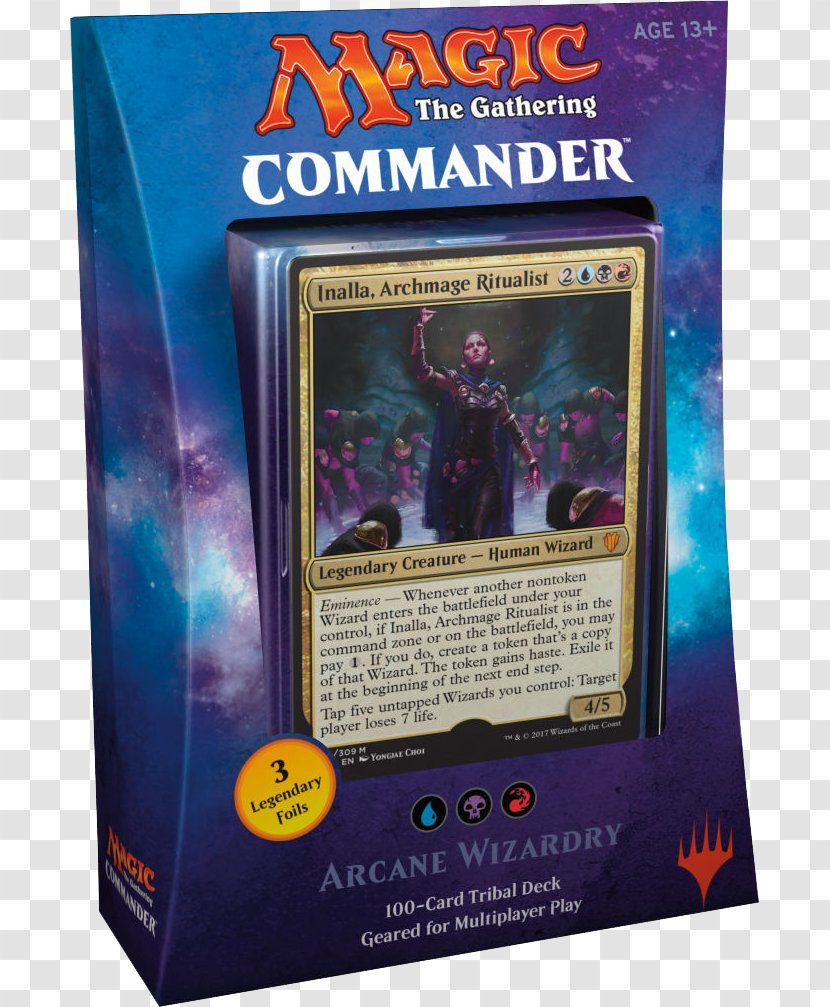 Magic: The Gathering Commander Playing Card 2017 Formats - Magic - Games Transparent PNG