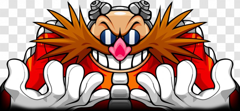 Doctor Eggman Sonic The Hedgehog Knuckles Echidna Mania 3 3d Villain Transparent Png
