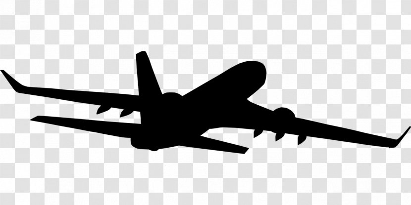 Airplane Silhouette Aircraft Flight Jet Travelling Transparent Png