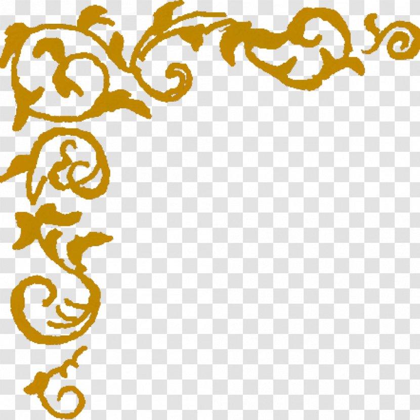 Borders Clip Art Design Image Openclipart - Floral - Seashell Corner Transparent PNG