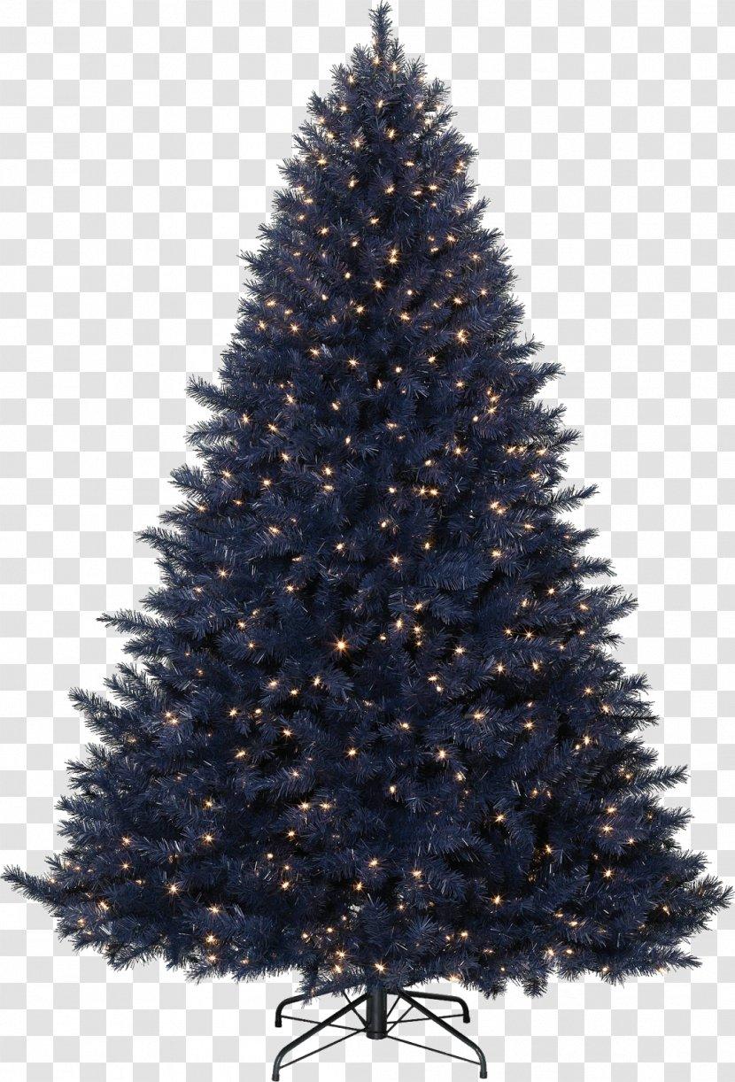 Artificial Christmas Tree Decoration Navy Blue Transparent Png