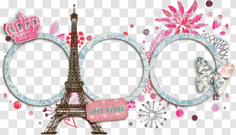 Eiffel Tower Picture Frames Architecture - Rigid Frame Transparent PNG