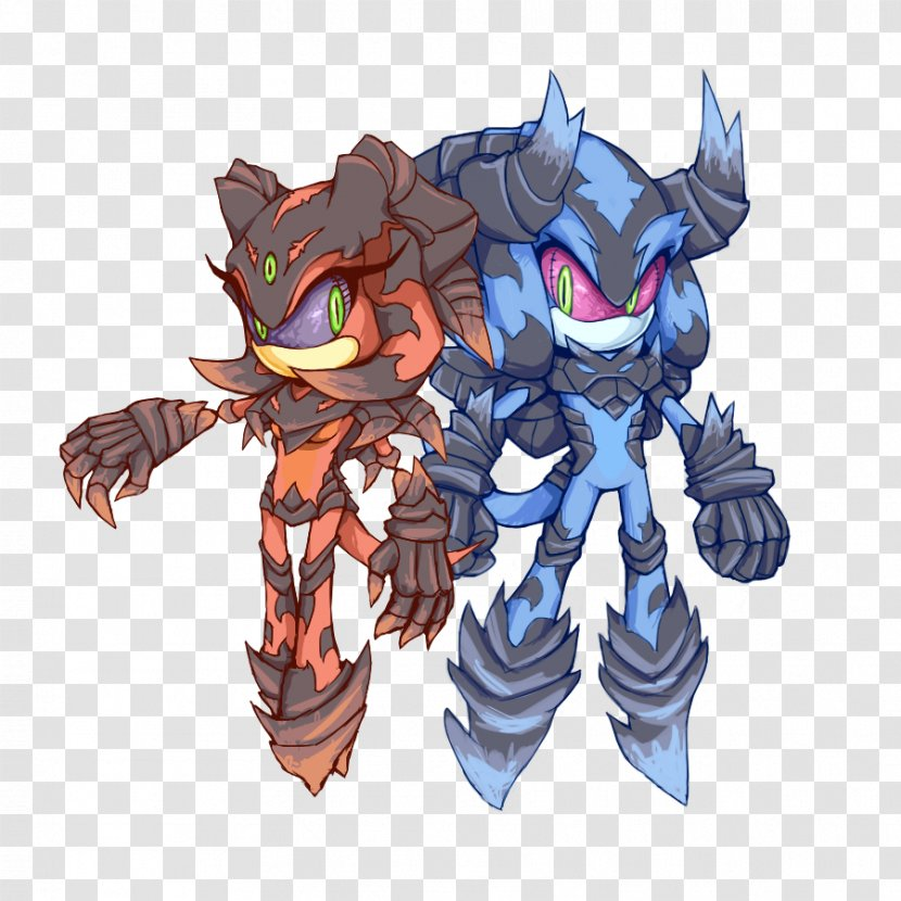 Sonic The Hedgehog Shadow Chaos Mephiles Dark And Black Knight Twin Earth Transparent Png