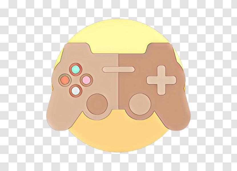 Game Controller Yellow Technology Gadget Playstation Accessory Joystick 3 Transparent Png