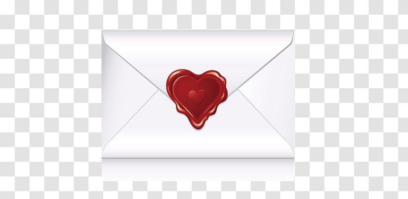 Love Heart Font - Wedding - Envelope Transparent PNG