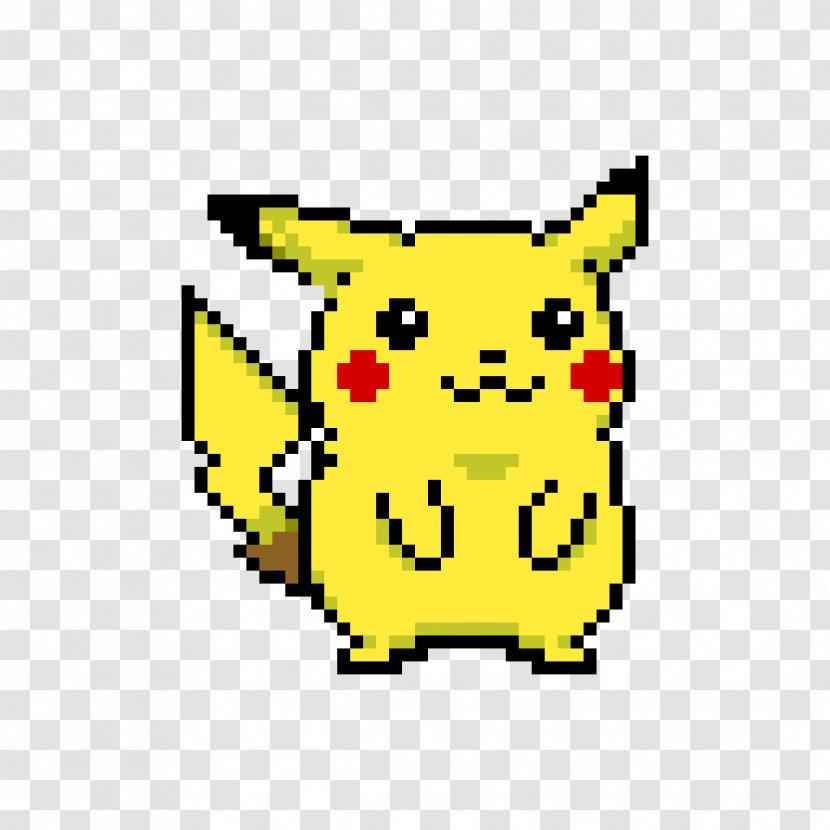 Pikachu Minecraft Pixel Art Bead Deviantart Transparent Png