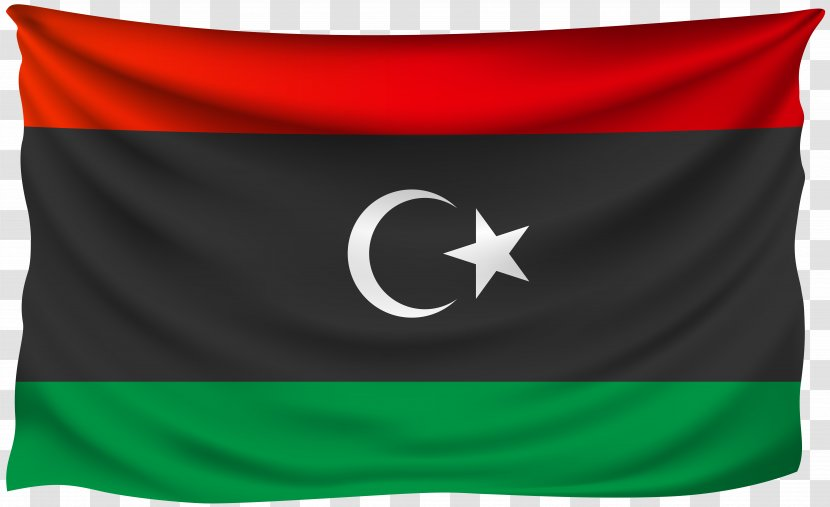 Flag Of Libya Tripoli Stock Photography - Shriveled Transparent PNG