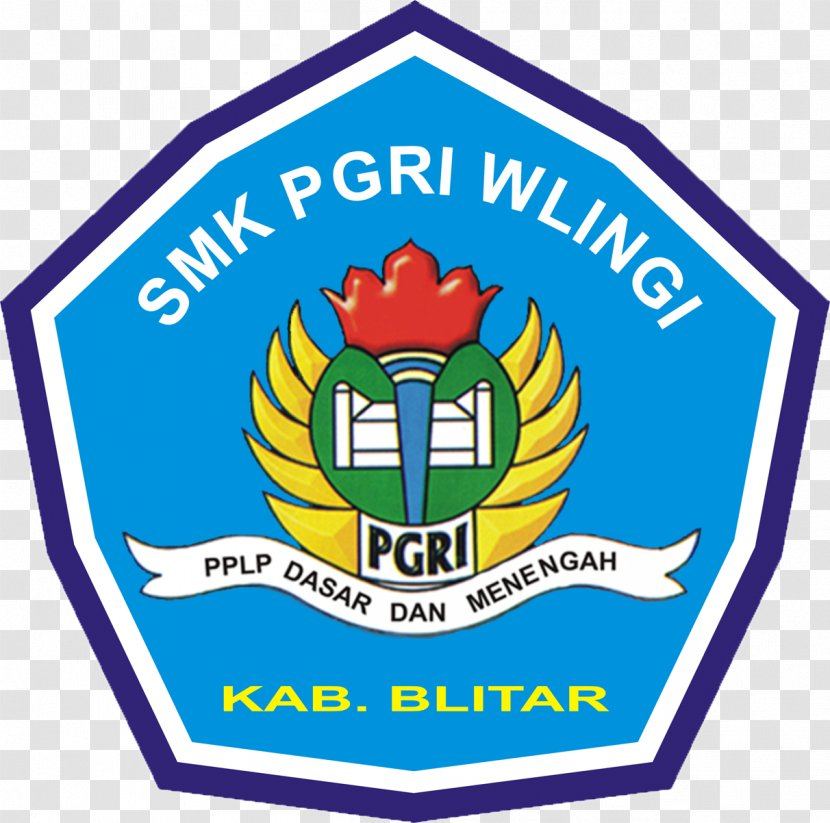smk pgri wlingi logo vocational school sign islami transparent png pnghut