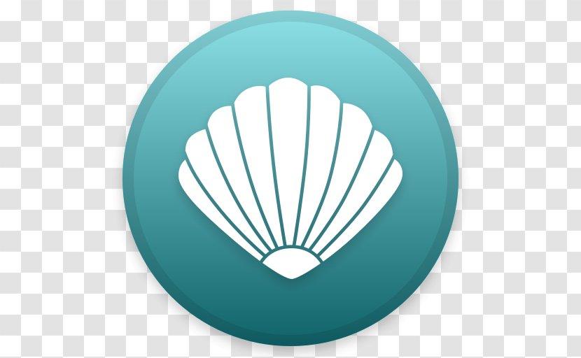 Clam Seashell - Aqua Transparent PNG