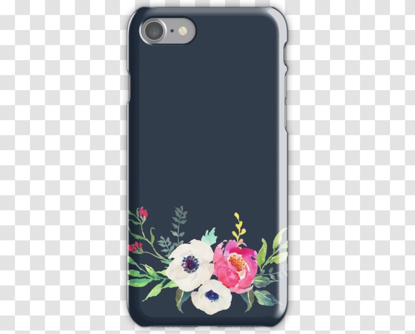 IPhone 7 Plus 6s 8 X SE - Iphone - Peony Watercolor Transparent PNG
